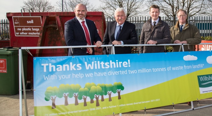 Hills Waste Solutions celebrate diverting two million tonnes of waste from landfill