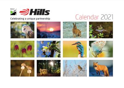 Hills 2021 calendar